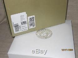 100% Authentic Bnwt $1395 Versace Signature Medusa Coin Gold Plated Necklace 36