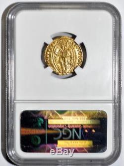 1343-1354 Italy Ducat Venice Gold Coin FR-1221 NGC/NCS VF Details