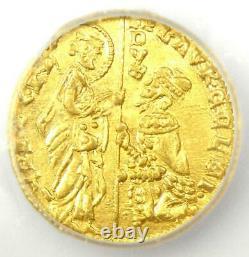 1361-65 Italy Lorenzo Celsi Venice AV Ducat Gold Coin ICG MS64 (BU UNC)