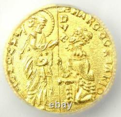 1365-1368 Italy Venice Gold AV Ducat Coin (1D) Certified ICG MS62 (BU UNC)
