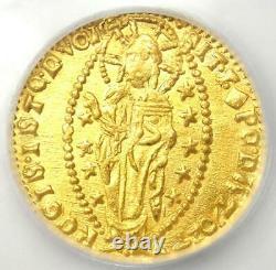 1365-82 Italy Contarini Venice AV Ducat Gold Coin Certified ICG MS64 (BU UNC)