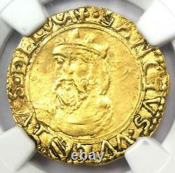 1501-1600 Italy Lucca Gold Scudo d'Oro Gold Coin Certified NGC AU Details