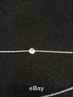$15300 ROBERTO COIN 18K 4.55 ctw 36 STATION DIAMOND BY THE INCH NECKLACE