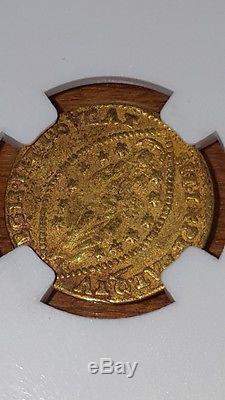 1559-1567 venice, italian states 1 zecchino gold coin, doge G. Priuli, NGC-vf 35