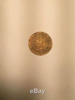 1587 Italy Mantova Vincenzo I gold ducat coin