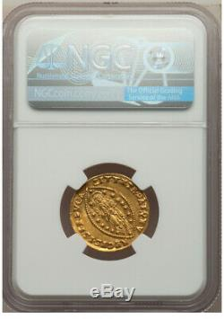 1684-88 Italian States Gold Zecchino Venice Marcantonio Giustiani NGC MS 62