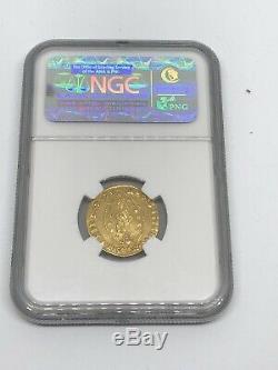 1752-1762 ITALY 1 Zecchino GOLD Coin Venice NGC AU 58 VERY RARE