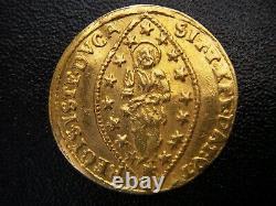 1779 Italian States Venice Doge Paolo Renier Rainer Gold Ducat Zecchino Superb