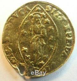 1789-1797 GOLD COIN Ludovico Manin, Last Doge of Venice, Zecchino or Ducat