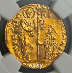 1789, Venice, Ludovico Manin. Gold Zecchino Ducat Coin. (3.49gm!) NGC MS-61