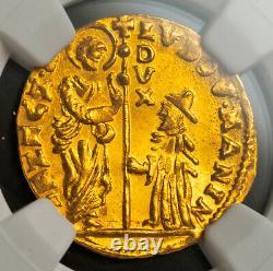 1789, Venice, Ludovico Manin. Gold Zecchino Ducat Coin. (3.53gm!) NGC MS-65