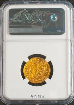 1789, Venice, Ludovico Manin. Gold Zecchino Ducat Coin. (3.5gm!) NGC MS-63