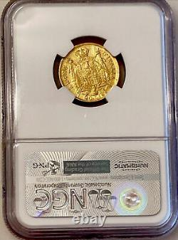1808 M Napoleon 20 Lire Gold Coin. Only 87,000 NGC Graded AU 55-Very Scarce