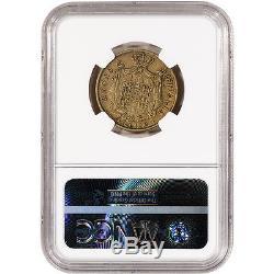 1811/09M Italy Gold 40 Lire Kingdom of Napoleon NGC VF30 Overdate