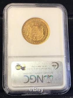 1815 ITALY GOLD 40 Lire PARMA NGC AU 55 (88 10012)