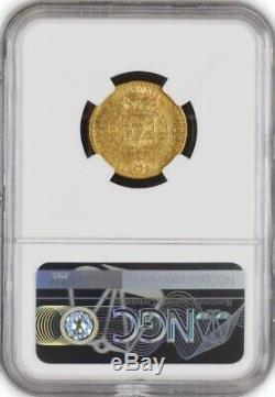 1818 Eagle L 20 Lire Gold Sardinia Italian States Vittorio Emanuele I NGC AU50