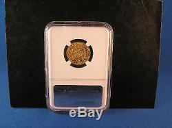 1827 L Italy Gold 20 Lire Coin Sardinia N. G. C. Graded AU 55 Carlo Felice Ruler
