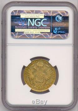 1831/21 Gold Sovrano Italy Lombardy-venetia, Rare, Ngc Xf-45