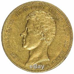 1834 Italy Sardinia 1834(t) P 100 lire Gold Coin