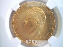 1835 Italy Anchor Sardinia 100 Lires Gold Coin