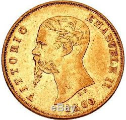 1860 Gold 10 Lire Italy-emilia, Extremely Rare, First Time On Ebay