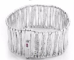 18KT Roberto Coin Diamond WithG Elefantino Cuff Bracelet $23,500