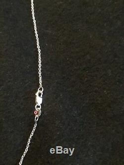 18K 4.55 ctw $15000 ROBERTO COIN 36 STATION DIAMOND BY THE INCH NECKLACE