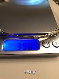 18K Gold Roberto Coin Choker, 35.8 Grams