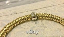 18k Gold Roberto Coin Primavera Bracelet