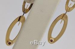 18k Yellow Gold Roberto Coin Earrings