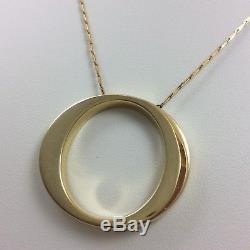 18k Yellow Gold Roberto Coin Pendant Necklace