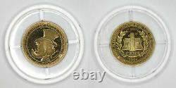 1995 Italy Disney Gold Token'Uncle Scrooge's 1st Cent' PF68DCAM by ANACS