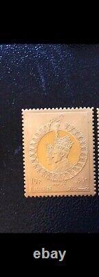 22k Gold COIN Stamp 26g Mohamad reza kabir MEDAL CORONATION commemorative 1967