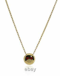 3 Day Sale Roberto Coin Emoji 18k White Gold Necklace 7771793AY180