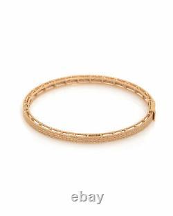 3 Day Sale Roberto Coin Symphony Barocco 18k Rose Gold Bracelet 7771361AXBA0