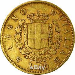 #516309 Coin, Italy, Vittorio Emanuele II, 10 Lire, 1863, Torino, VF(30-35)