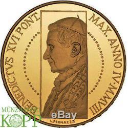 AA7429 ITALY Vatican Benedict XVI, 2005-2013 100 Euro 2008 27,51 g Fine gold