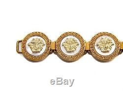 Authentic Gianni Versace Vintage iconic Medusa coin bracelet