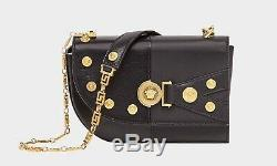 BNWT 100% auth VERSACE The Clash Medusa Coins Small Shoulder Bag $2065, DS