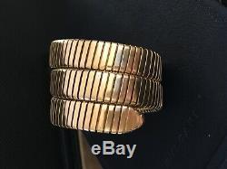 Bulgari Bvlgari 18k Serpenti Tubogas Ancient Coin Bracelet