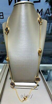 Bvlgari 18k Yellow Gold Ancient Coins Link Necklace