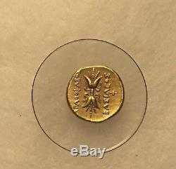 Gold Sicily Syracuse Athena Coin