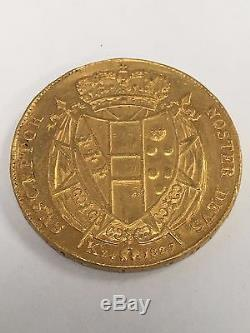 ITALIAN STATES. TUSCANY. Leopoldo II, 1824-1859. 80 Fiorini (Florins)-200 Paoli