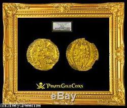Italy 1400-13 Gold Coin Jesus Christ Ngc 65 Mint State Ducat 650+ Yrs Old
