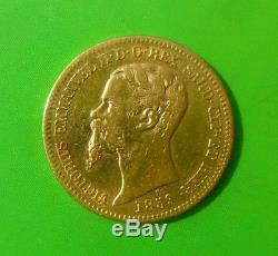 Italy Sardinia 20 Lire 1859 Gold Coin