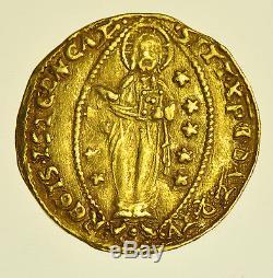 Italy, Venice, Giovanni Gradenigo, Ducat (1355-1356)gold Coin Gvf+