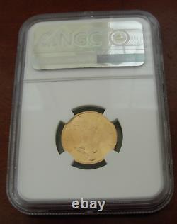 Italy 1931 R IX Gold 50 Lire NGC MS64 Vittorio Emanuele III
