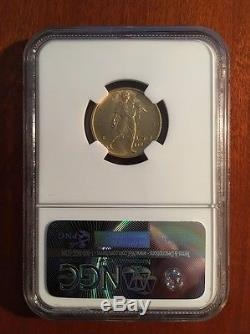 Italy 1931-r Yr. IX 50 Lire Uncirculated Gold Coin, Ngc Certified Ngc Ms63