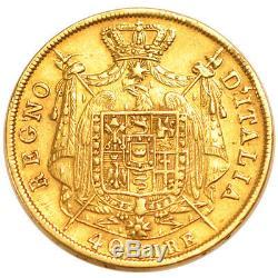 Italy Coins, Italiy, Kingdom of Napoleon, 40 Lira