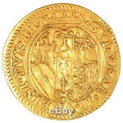Italy Coins, Italy, Urbino, Guidobaldo II, Scudo D'Oro